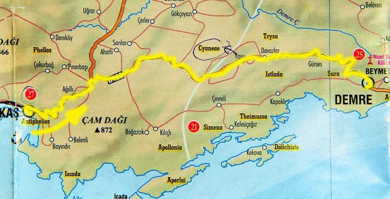 Tag 131: Kaş - Demre