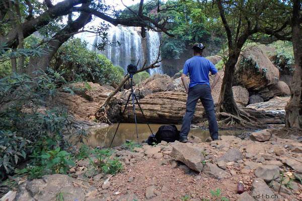 Vietnam.Elephant Wasserfall