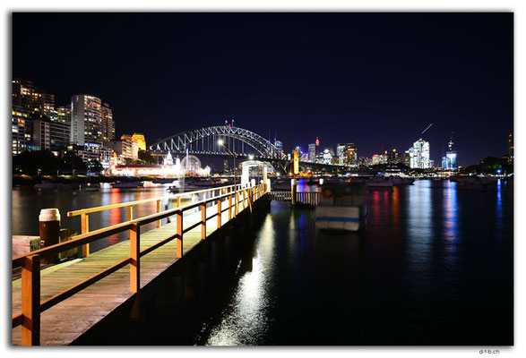AU1664.Sydney.Opera House & Harbour Bridge.Lavender Bay