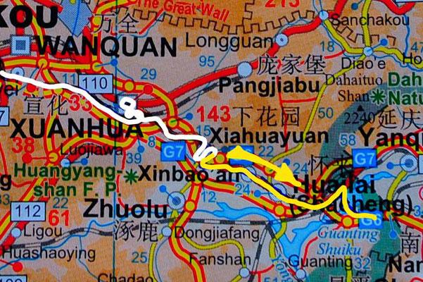 Tag 262:  Xiahuayuan 下花园区 - Wai Pao Cun