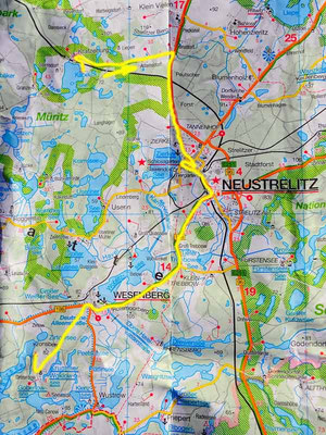 Tag 33: Kratzeburg - Drosedow