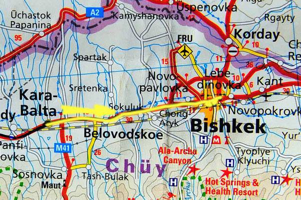 Tag 210: Kara Balta - Bishkek