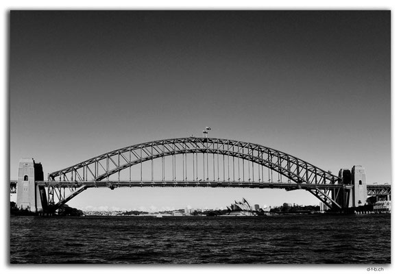 AU1655.Sydney.Opera House & Harbour Bridge.McMahons Point