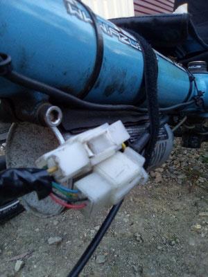 AU: Solatrike in Bairnsdale, Vordermotor repariert, Rotes Kabel muss nicht verbunden sein.