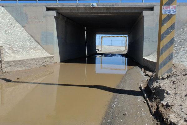 CN.überschwemmte Strasse
