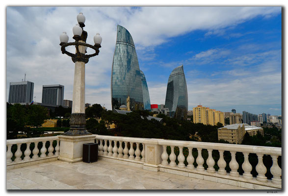 AZ074.Baku.Flame Towers