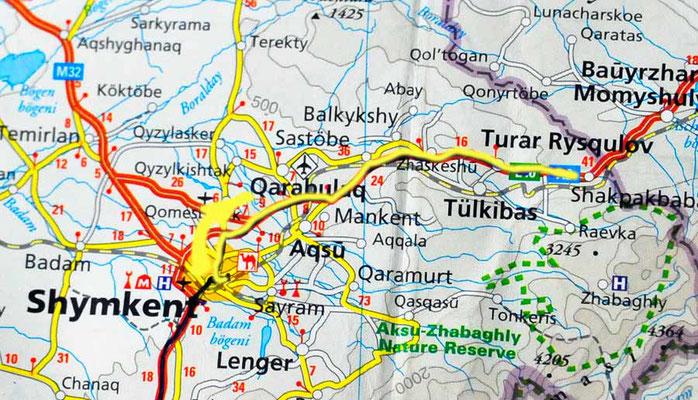 Tag 205: Shymkent - Turar Rykulov