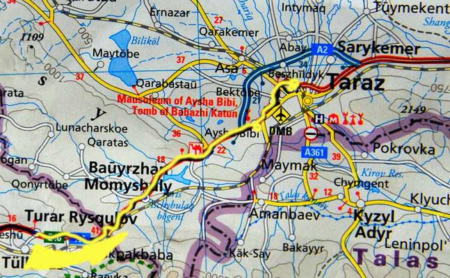 Tag 206: Turar Rykulov - Taraz