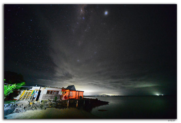 FJ0050.Vatia Beach at night