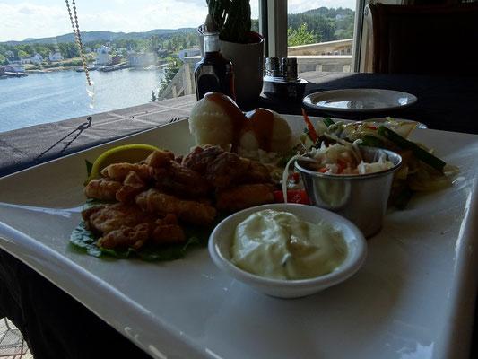 Urlaub in Neufundland: Das Inn at Happy Adventure bietet auch die Spezialität Cod Tongues.