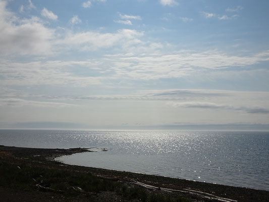 Urlaub in Quebec: Strandblick nahe Carleton-sur-Mer.
