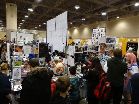 Toronto Comicon 2016: Verkaufsstände zu allen Themen. Star Wars natürlich inbegriffen.