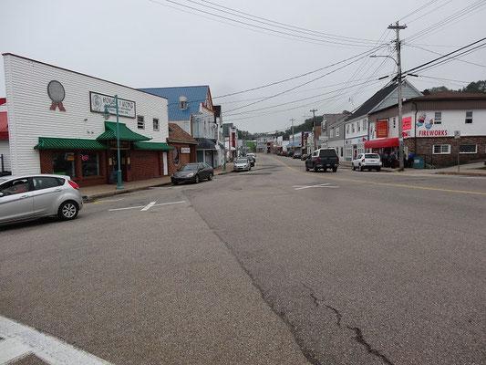 Zentrum von Digby, Nova Scotia.