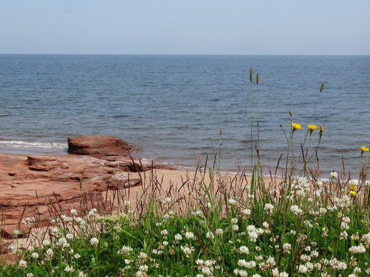 Unterwegs im Prince Edward Island National Park.