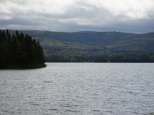 Urlaub in New Brunswick: Blick auf den Bathurst Lake im Mount Carleton Provincial Park.
