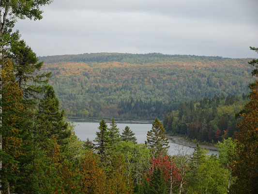 Urlaub in Quebec: Indian Summer im Lac Temiscouata Nationalpark.