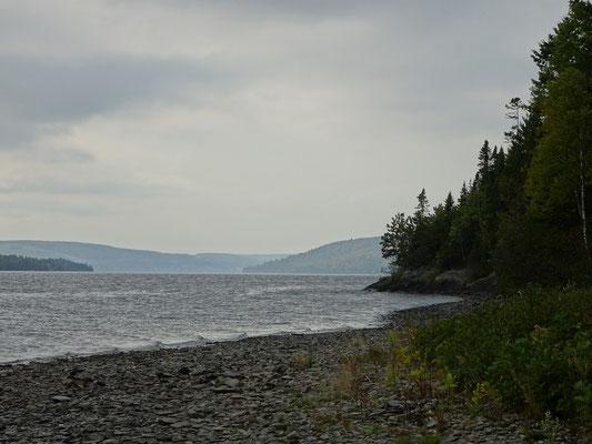 Urlaub in Quebec: Am Ufer des Lac Temicouata.