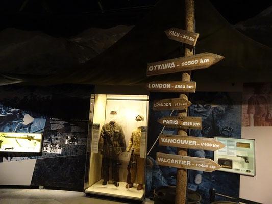 Kriegsmuseum in Ottawa: Ausstellung zum Koreakrieg.