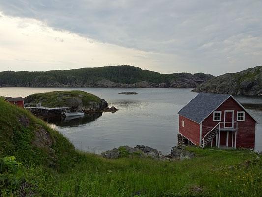 Urlaub in Neufundland: Abendstimmung auf Change Island.