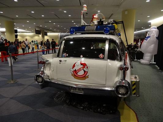 Toronto Comicon 2016: Das Ghostbuster-Mobil.