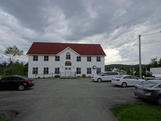 Urlaub in Neufundland: Das schlichte Inn at Happy Adventure beherbergt ein tolles Restaurant.
