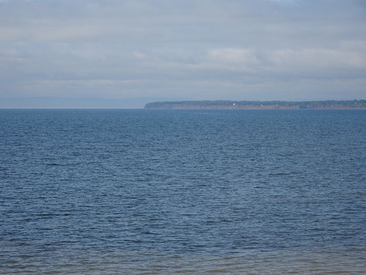 Urlaub in Quebec: Meerblick nahe Carleton-sur-Mer.
