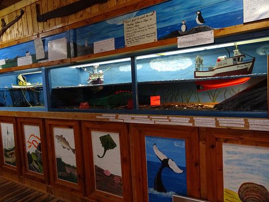 Im Fischereimuseum Prime Berth in Twillingate.