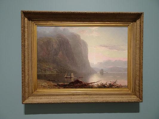 Urlaub in Ottawa: Dieses Gemälde in der Nationalgalerie zeigt eine Stelle im Saguenay-Fjord in Quebec, wo ich selber schon gestanden habe.
