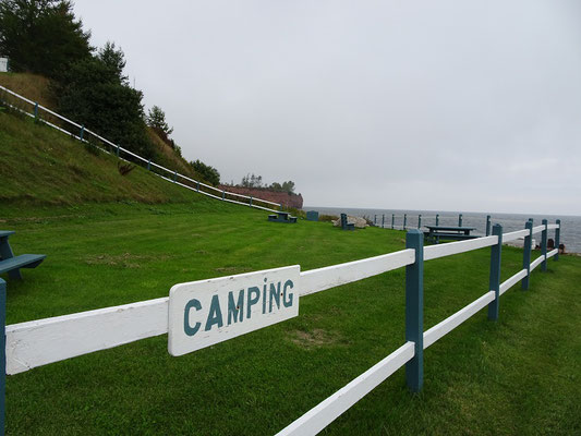 Urlaub in Quebec: Campingplatz in Saint Godefroi.