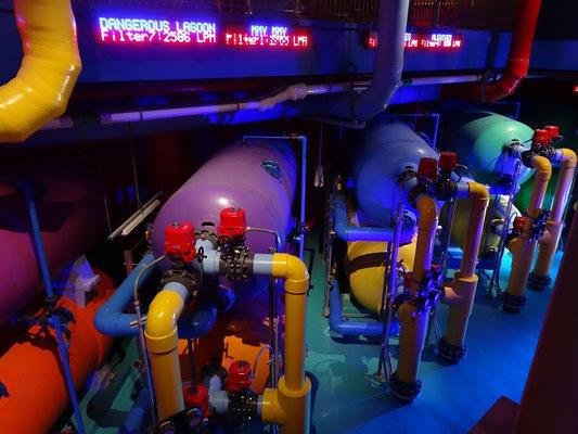 Blick hinter die Kulissen im Ripley's Aquarium of Canada.