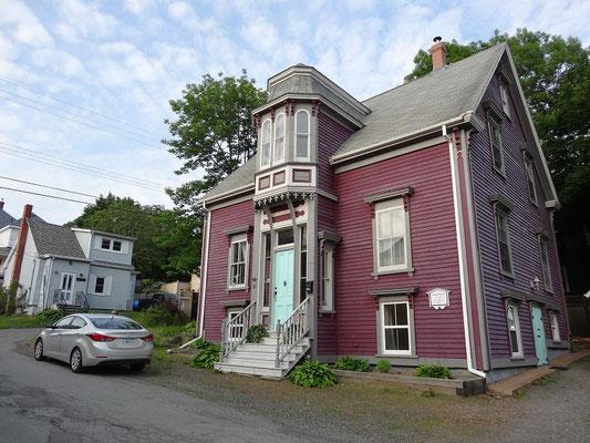 Historische Unterkunft in Lunenburg, Nova Scotia.