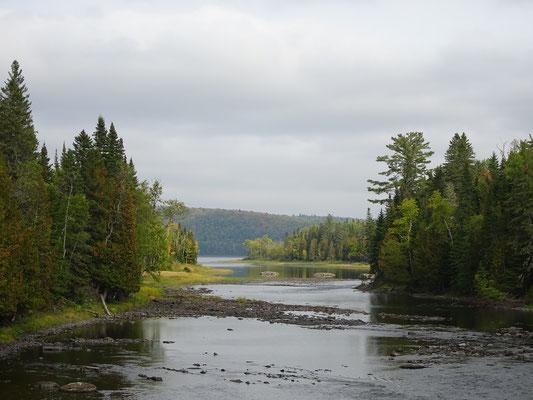 Urlaub in Quebec: Besuch im Lac Temiscouata Naturpark.