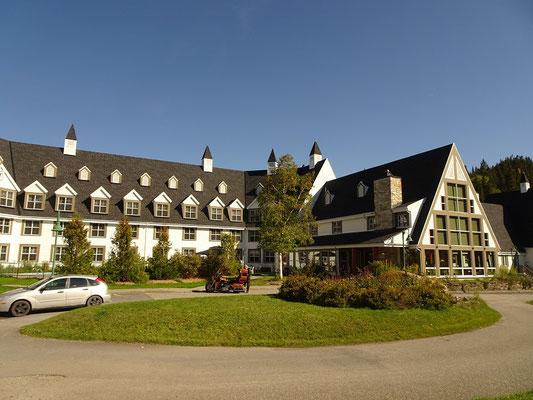 Urlaub in Quebec: Das Hotel Gite du Mont-Albert im Parc national de la Gaspésie hat knapp 60 Zimmer.