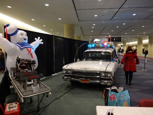 Toronto Comicon 2016: Die Ghostbusters waren mit dem Auto da.