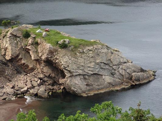 Wer bei seinem Nova Scotia-Urlaub absolut niemanden sehen will, der kann in Meat Cove auch zelten.