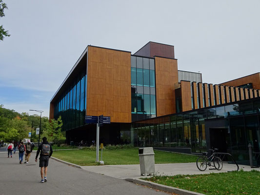 Bild vom Uni Campus in Mississauga.
