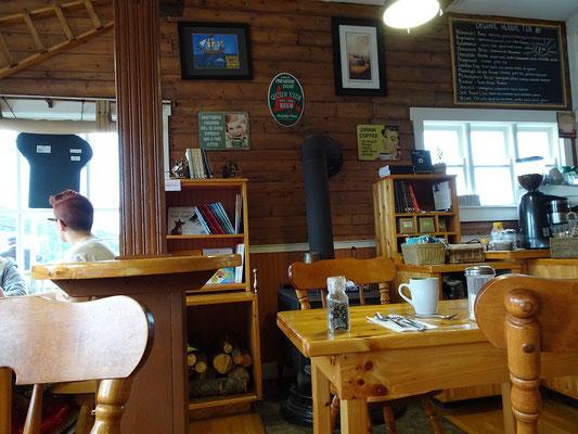 Urlaub in Neufundland: Frühstück im Cafe in Placentia.
