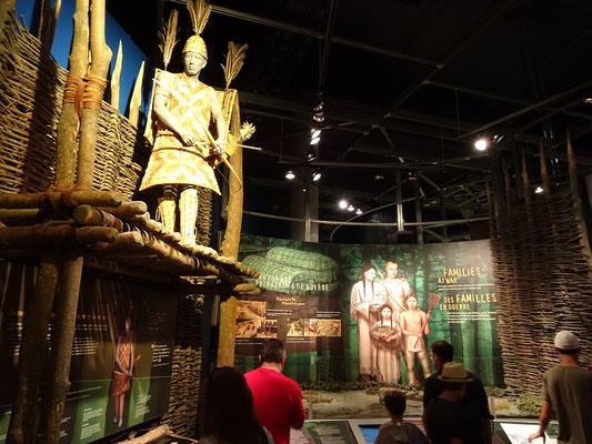 Urlaub in Ottawa: Der erste Teil des Kriegsmuseums ist den Ureinwohnern gewidmet.