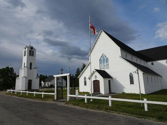 Urlaub in Neufundland: Eine Kirche in Happy Adventure.