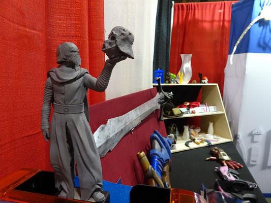 FanExpo 2016 in Toronto: Kylo Ren aus Star Wars, hergestellt mit einem 3D-Drucker.