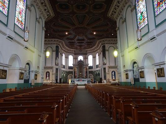 Urlaub in Neufundland: Innenansicht von St. John's Basilica.