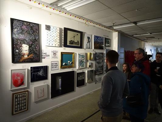 An Honest Farewell in Toronto: Kunst auf sechs Etagen bei der Art Maze in Honest Eds.
