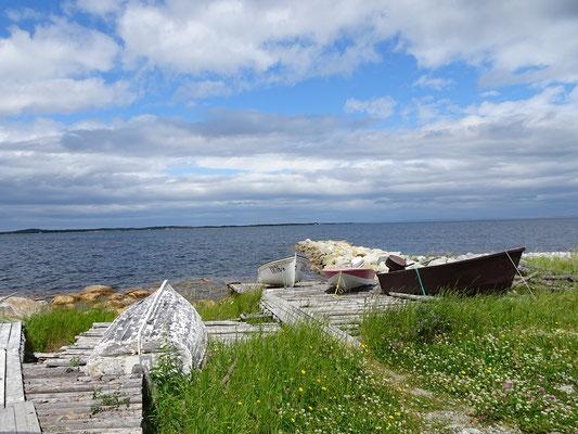 Urlaub in Neufundland: Uferszene nahe Musgrave Harbour.