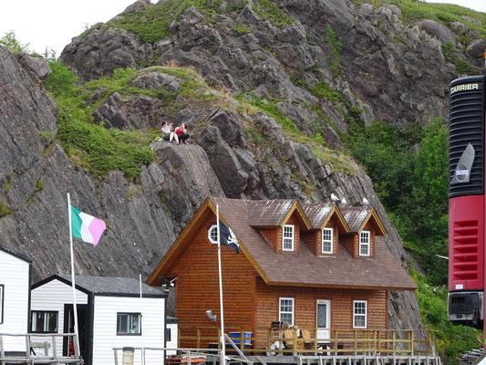 Urlaub in Neufundland: Szene aus Quidi Vidi.