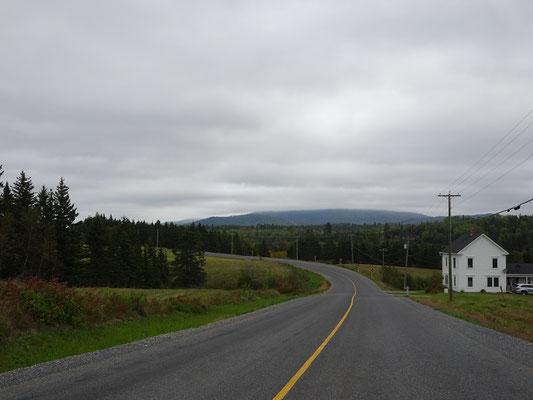 Urlaub in New Brunswick: Foto von der Appalachian Range Route.