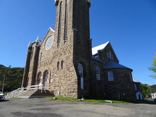 Urlaub in Quebec: Fotostopp an der Kirche von Percé.