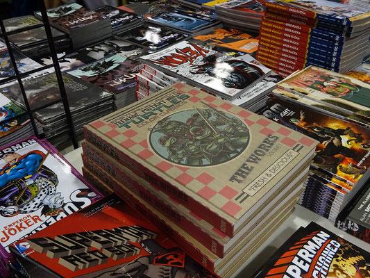 FanExpo 2016 in Toronto: Comicbücher zum Thema Turtles.