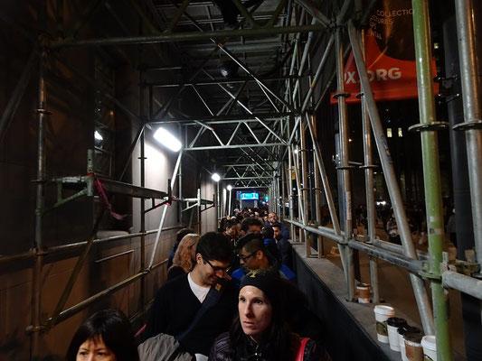 Nuit Blanche 2016 in Toronto: Diesmal waren die Warteschlangen nicht so lang wie in den Jahren zuvor.