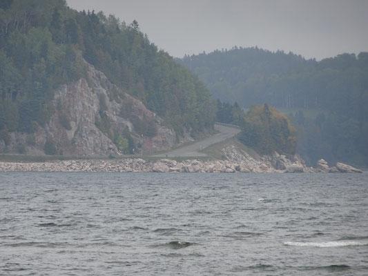 Urlaub in Quebec: Blick über die Bucht nahe Port Daniel Gascons.