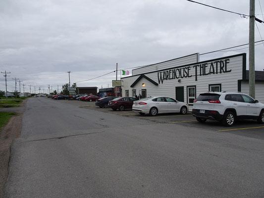 Das kleine Theater der Gemeinde Cow Head im Norden des Gros Morne Nationalparks.